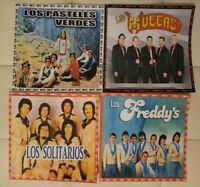 4 DISCOS DE GRUPOS ROMANTICOS DEL AYER EN ESPAÑOL. FORMATO MP3. 265 CANCIONES