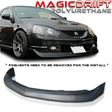 02 03 04 ACURA RSX DC5 JDM Mugen Style Front Bumper Lip (Urethane) Black PU PP