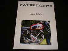 PANTHER MOTORCYCLES SINCE 1950 STEVE WILSON 2008 1st EDITION P/B NEW