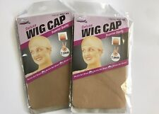 2PCS WIG CAP STOCKING CONTROL HAIR UNDER WIG NUDE
