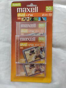 maxell dvd-rw 30minsmini dvds