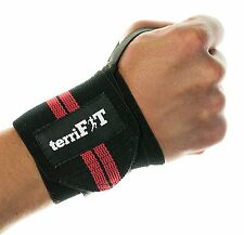 100 Pairs terriFit Medium Duty CrossFit Weight Lifting Wrist Wraps Wholesale Lot
