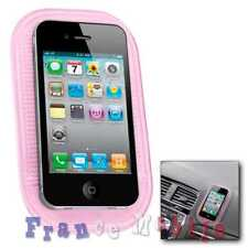 Support Téléphone Smartphone Phone Voiture Tapis Antidérapant Silicone rose