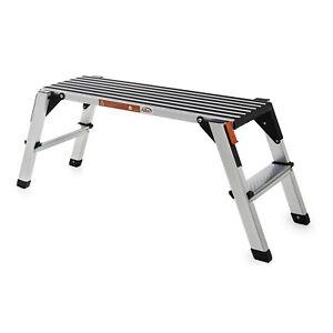 Aluminium-Sicherheits-Laufbühne mit großer, rutschfester Lauffläche zusammenklap