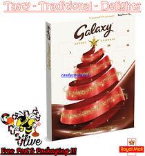 Galaxy chocolae Calendario de Adviento Navidad Navidad Santa cuenta regresiva Diversión Niños 110g