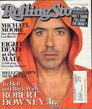 Rolling Stone August 21 2008 Robert Downey Jr. w/ML EX 032216DBE