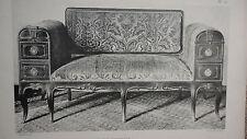 sièges d'art  Le mobilier d'art francais aux XVIIe et XVIIIe siecles.