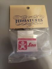 Dollhouse Miniature Box of Luvs Diapers - 1:12 Scale NEW IN BAG!