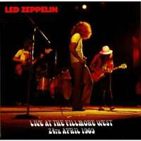 "LED ZEPPELIN ""Live at The Fillmore West 1969"" (Soundboard)  (RARE CD)"