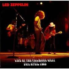 "LED ZEPPELIN ""Live at The Fillmore West 1969"" (Soundboard)  (RARE CD)"