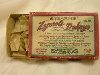 "Vintage Stearns Zymole Trokeys Advertising Box 3 3/4"" X 2 1/4"" Detroit USA"