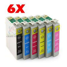 6x Compatible Ink Cartridge for Epson TX810FW R390 RX610 TX650 TX710W Printer