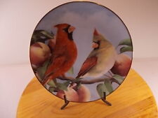 "The Danbury Mint Collection ""Autumn Bounty"" Collectors Plate By Bob Travers"