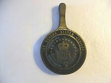The Queens Silver Jubilee Cast Iron Trivet (1952 - 1977)  Belper England