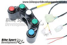 BSD Racing Lenkerschalter-Einheit links für Kit ECU - Yamaha YZF-R1 RN22 12-14