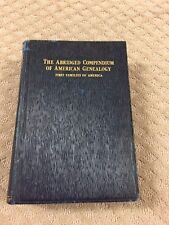 The Abridged Compendium of American Genealogy, First Families of America:LOOK71B