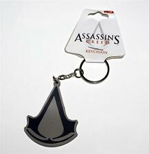 ASSASSINS CREED LOGO XBox Playstation Video Game RUBBER KEY CHAIN RING New