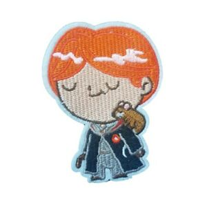 Harry Potter Inspired Ron Weasley character Iron On Patch Sew on transfer