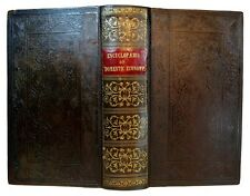 ANTIQUE FURNITURE DECOR COOKBOOK 1847 VICTORIAN HOME INTERIOR DESIGN LAMPS OLD