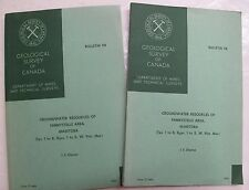 2 Canadian Geology Manitoba Canada Groundwater Resources Fannystelle Map 1964
