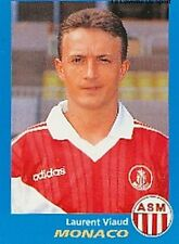 N°221 LAURENT VIAUD AS.MONACO VIGNETTE PANINI FOOTBALL 96 STICKER 1996