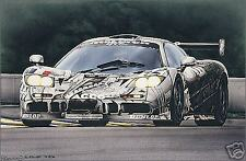 Art et L'Automobile McLaren GTR by Rosemary Hutchings
