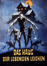 Joseph Ellison Don't go in the house Horror poster