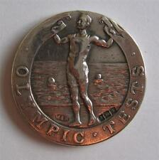 Silver Participation Medal 1921 British Olympic Swimming Tests for 1924 Games