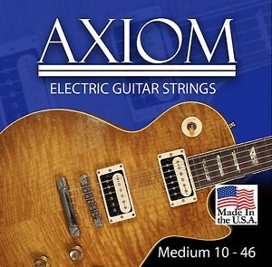 Axiom Electric Guitar Strings 10-46 Made in USA