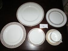 Wedgewood ~Retired Vera Filigree Gold 6 Pc Place Set ~NWT Closed Jewelry Store 6