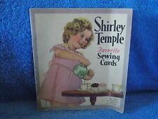 1937 Shirley Temple Favorite Sewing Cards Book