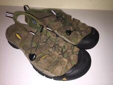 KEEN Newport Leather Sandals, Men's 9.5, Brown