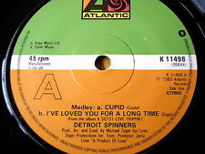"""DETROIT SPINNERS - MEDLEY: CUPID / I'VE LOVED YOU FOR A LONG TIME   7"""" VINYL"""