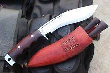 "6"" Aguthentic Gurkha Hand Forged Blade Afghan Gripper Blocker Kukri Knife by NCZ"