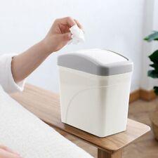 Mini Small Waste Bin Home Office Desktop Table Trash Can Garbage Basket Box NEW