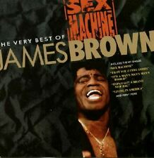 JAMES BROWN sex machine - the very best of (greatest hits) (CD compilation) funk