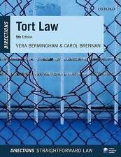 Tort Law Directions by Vera Bermingham, Carol Brennan (Paperback, 2016)