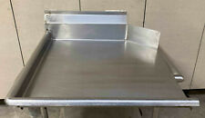 Eagle 24 Stainless Steel Left Side Clean Dish Table No Legs