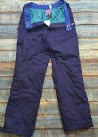 Nevica Retro Salopettes Blue extra lining vary warm mint condition uk Size 40M