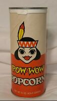 Vintage NOS Popped-Right Pow Wow Popcorn Unopened & Sealed. Rare!