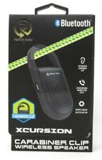 Replay Audio Wireless Bluetooth Speaker With Carabiner Clip Xcursion
