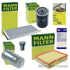 MANN-FILTER INSPEKTIONSPAKET FILTERSATZ B FÜR AUDI A4 5B 8D 1.9 TDI BJ 95-99