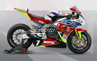 Motorrad Bodywork Fairing Kits Cowling Fit Honda CBR1000RR 08-11 blue red black