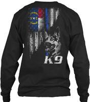 North Carolina Police K9 - Gildan Long Sleeve Tee T-Shirt