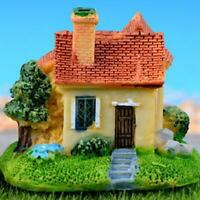 Mini Fairy Garden Miniature House Castle House Micro Landscape Resin Craft Decor