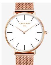 Lord Andrew Chronos - Halcyon & Gold Edition - Luxury Minimalistic Watch