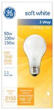 (12) GE General Electric 97494 3 Way Soft White Light Bulbs 50/100/150w