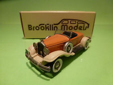 BROOKLIN MODELS BRK 12 HUDSON GREATER 8 MURRAY 1931 - 1:43 - RARE SELTEN - NMIB
