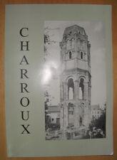 POITOU CHARROUX ROBERT FAVREAU MARIE THERESE CAMUS IMPRIMERIE OUDIN 1989