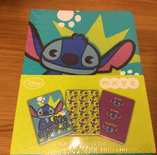 More details for disney store  stitch scrump rare retired mxyz notebooks set of 3